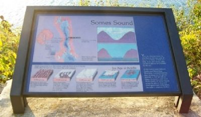 Somes Sound Marker image. Click for full size.