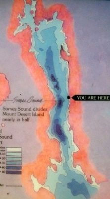 Somes Sound Detail on Marker image. Click for full size.