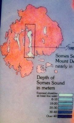 Somes Sound Location Detail on Marker image. Click for full size.