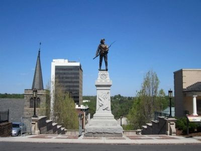 Lynchburg Confederate Soldiers Monument image. Click for full size.