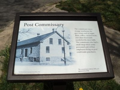Post Commissary Marker image. Click for full size.