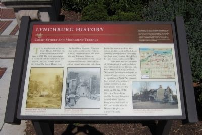 Lynchburg History Marker image. Click for full size.