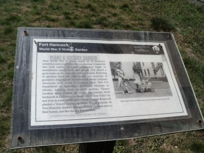 World War II Victory Garden Marker image. Click for full size.