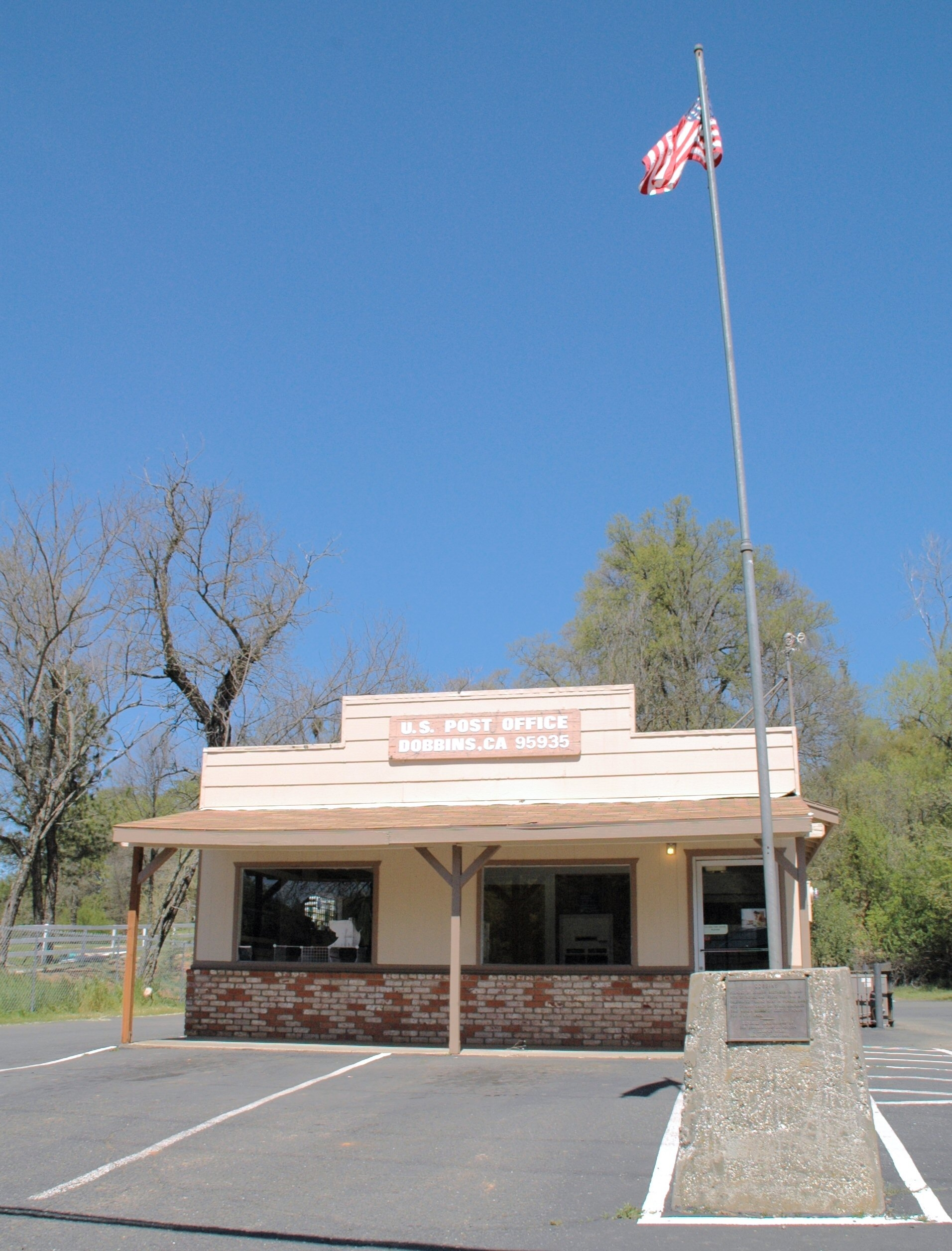 Dobbins Post Office and Marker