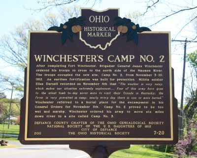 Winchester's Camp #2 / Preston Island Marker image. Click for full size.