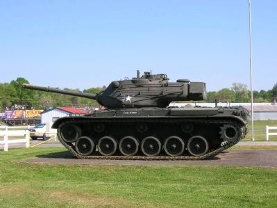 90 MM Gun Tank M47 Patton image. Click for full size.
