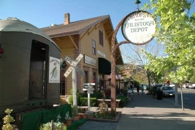 Calistoga Depot image. Click for full size.