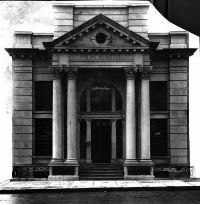 BC Permanent Building (historical photo) image. Click for full size.