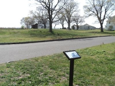 Site of Master Mechanic's Quarters Marker image. Click for full size.