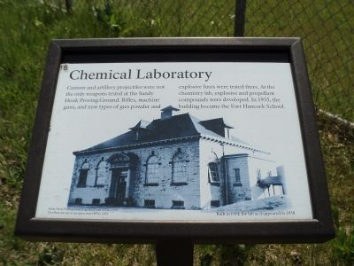 Chemical Laboratory Marker image. Click for full size.