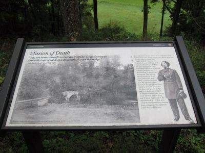 Mission of Death Marker image. Click for full size.