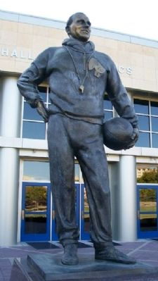 "Forrest ""Phog"" Clare Allen Statue image. Click for full size."
