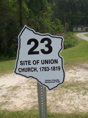 This is a stop on a Union County historical tour image. Click for full size.