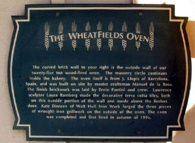The WheatFields Oven Marker image. Click for full size.