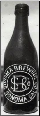 Sonoma Brewing Company Bottle image. Click for full size.