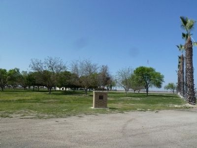 The Forty Acres Marker and Property image. Click for full size.
