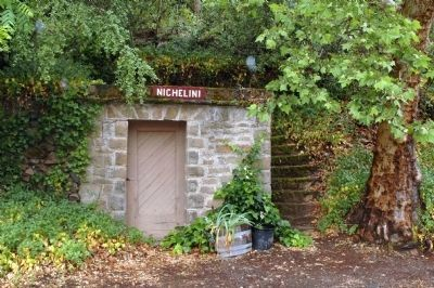 Nichelini Winery Stone Building image. Click for full size.