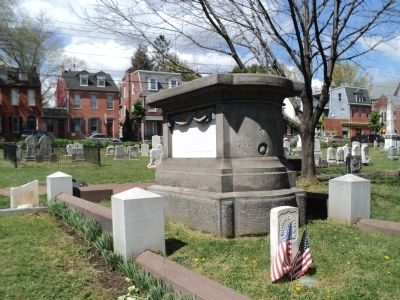 Grave of Thaddeus Stevens image. Click for full size.