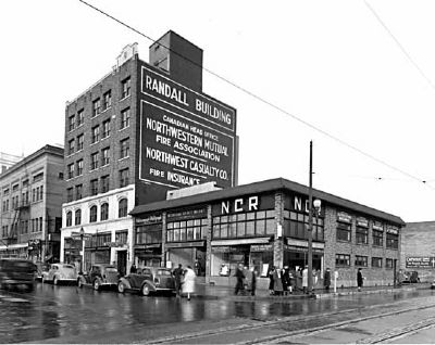 Randall Building, 1939 image. Click for full size.