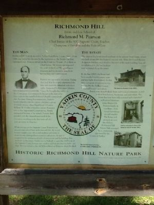 Richmond Hill Marker image. Click for full size.