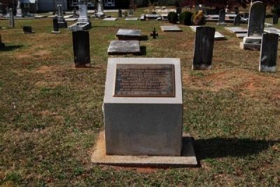 In This Burial Ground Marker image. Click for full size.
