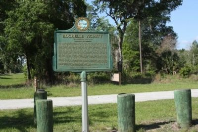 Rochelle Vicinity Marker image. Click for full size.