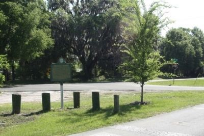 Rochelle Vicinity Marker at the intersection of County Route Road 2082 and County Road 234 image. Click for full size.