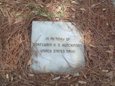In memory of Boatswain H. O. Hutchinson United States Navy image. Click for full size.