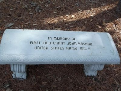In memory of First Lieutenant John Kasaab United States Army WWII image. Click for full size.