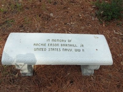 In memory of Archie Eason Barnhill, Jr. United States Navy, WWII image. Click for full size.