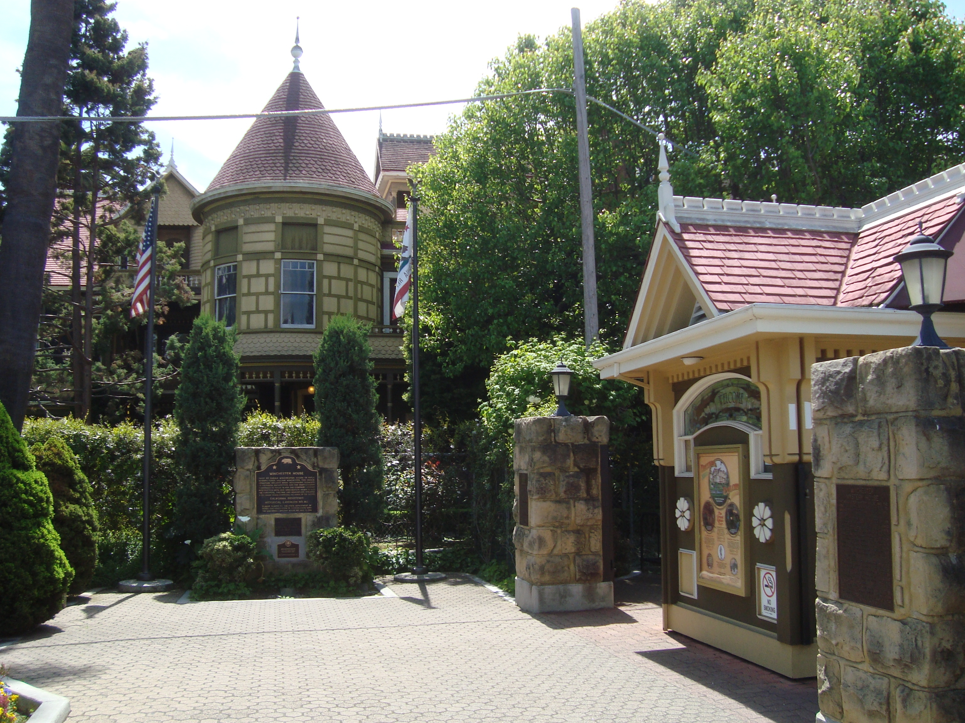 Winchester Mystery House Marker