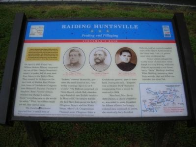 Raiding Huntsville Marker image. Click for full size.