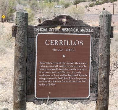 Cerrillos Marker image. Click for full size.