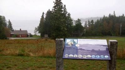 The view of Frenchman Bay Marker image. Click for full size.