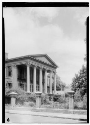 I. Jenkins Mikell House Historic American Engineering Record image. Click for full size.