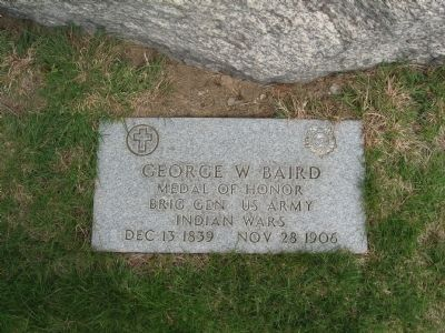 George W. Baird Marker image. Click for full size.