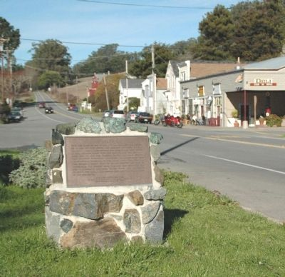 Tomales Marker image. Click for full size.