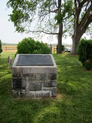 William Latané Marker (private property) image. Click for full size.