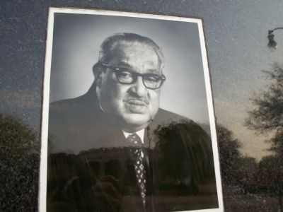 Thurgood Marshall, J.D. Marker image. Click for full size.