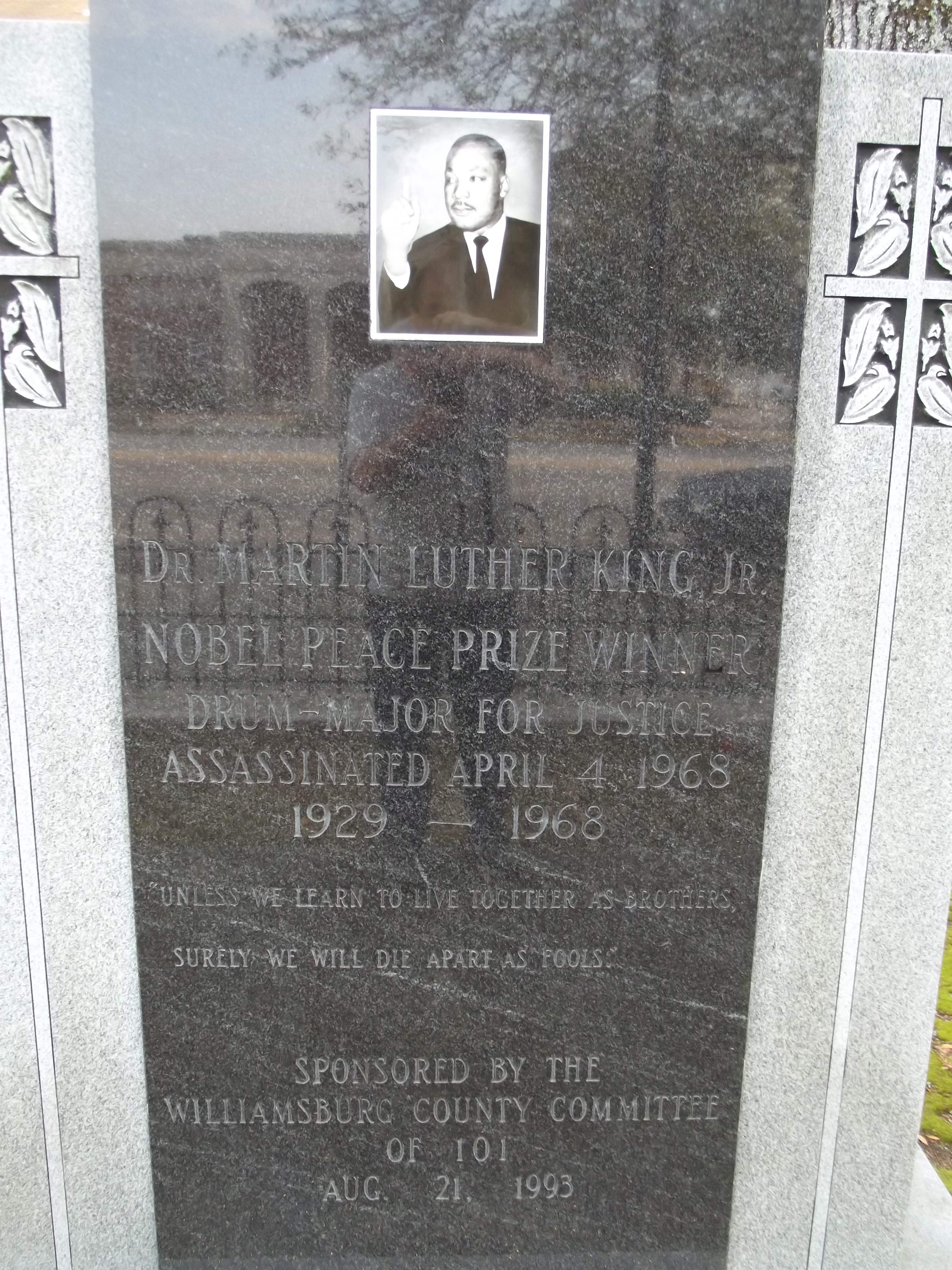 Dr. Martin Luther King, Jr. Marker