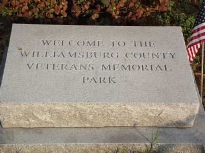 Willamsburg County Veterans Memorial Park image. Click for full size.