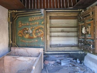 Bodie Bank Vault image. Click for full size.