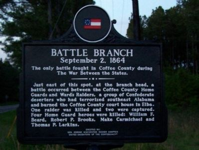 Battle Branch Marker image. Click for full size.