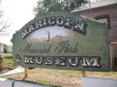 Maricopa's Memorial Park & Museum image. Click for full size.