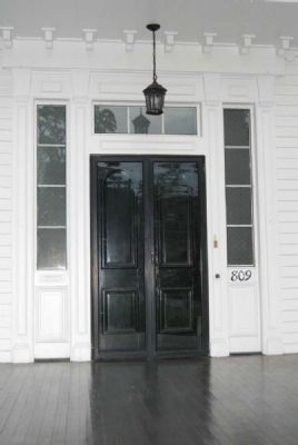 Dr. Samuel Marshall Orr House<br>Main Entrance image. Click for full size.