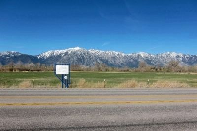 Dresslerville Marker - wideview, looking WSW. image. Click for full size.