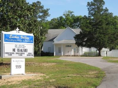 Euchee Valley Presbyterian Church image. Click for full size.