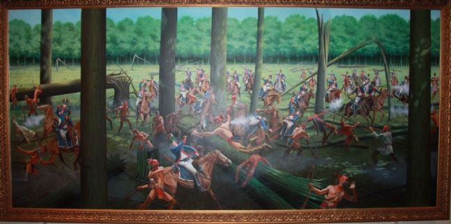 Battle of Fallen Timbers image. Click for full size.