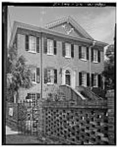 President's House Historic American Engineering Record image. Click for full size.