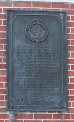 University of Florida Historic Campus image. Click for full size.